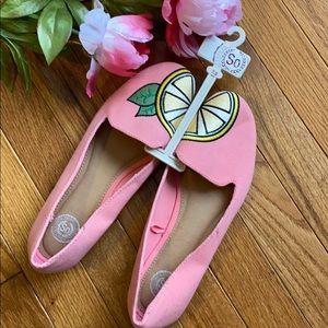 Pink Lemonade SO Authentic Flats